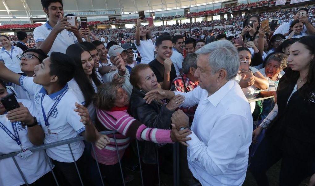 Foto: AMLO hizo un balance de los primeros dos meses y medio de su Gobierno, el 16 de febrero de 2019