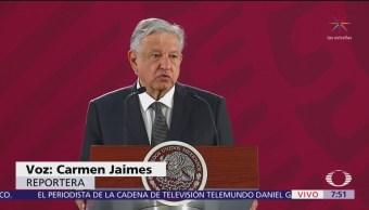 AMLO pedirá a SCT reconsiderar decisión sobre accidente en Puebla