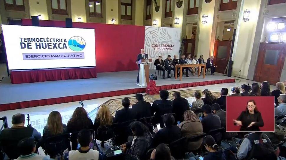 Foto: AMLO recuerda que este fin de semana se lleva a cabo la consulta sobre si autoriza el funcionamiento o no de la termoeléctrica en Morelos 22 febrero 2019