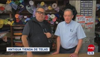 Antigua tienda de telas