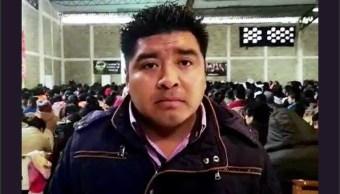 Foto: Antonio Ramírez Itehua, alcalde de Astacinga, Veracruz, 4 de febrero 2019, Twitter @fronterainfo