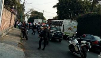 foto asalto autobus cuernavaca morelos 13 febrero 2019