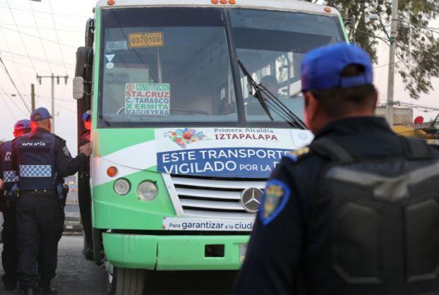 policias armados viajaran rutas mas peligrosas transporte publico evitar asaltos