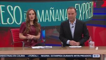 Foto: Así arranca Expreso de la Mañana con Esteban Arce del 13 de febrero del 2019