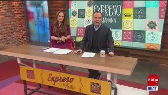 Así arranca Expreso de la Mañana con Esteban Arce del 14 de febrero del 2019