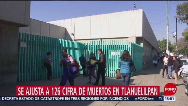 Foto: Aumenta a 126 el número de fallecidos por explosión en Tlahuelilpan