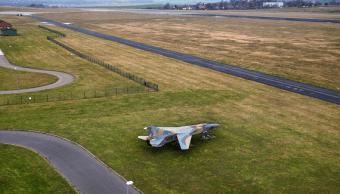 Foto: Avión militar MIG-23, 9 de enero de 2014, Alemania