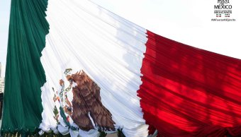 foto bandera de mexico sedena