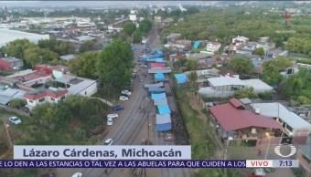 Bloqueo CNTE en Michoacán cumple un mes, sigue paro en escuelas