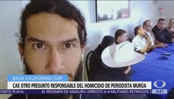 Cae otro presunto responsable del homicidio de periodista Murúa