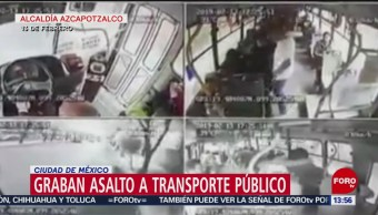 Foo: Cámaras captan asalto en Azcapotzalco