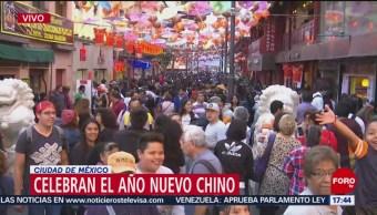 Foto: Celebración por el Año Nuevo Chino en México