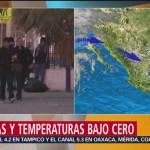 Foto: Chihuahua registra nevadas y temperaturas bajo cero