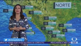 Clima Al Aire: Prevén lluvias en la Ciudad de México