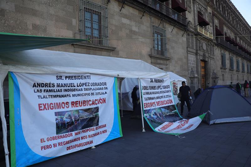 Foto_ CNDH pide a autoridades mexicanas ayudar a desplazados de Guerrero 22 febrero 2019