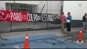 Foto: CNTE Reanuda Bloqueos Michoacán 8 de Febrero 2019
