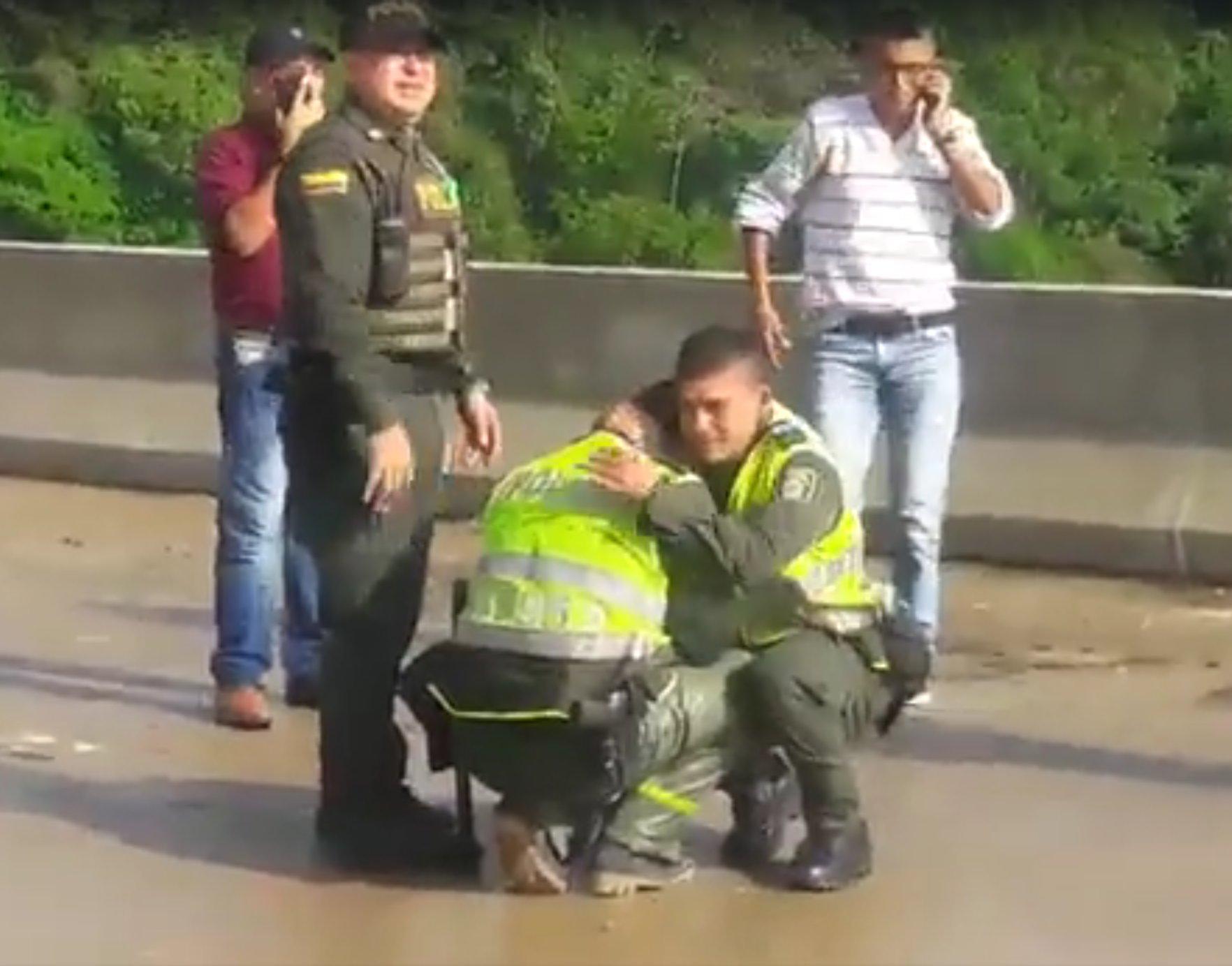 Madre-se-lanza-puente-prestamos-gota-suicidio-Colombia
