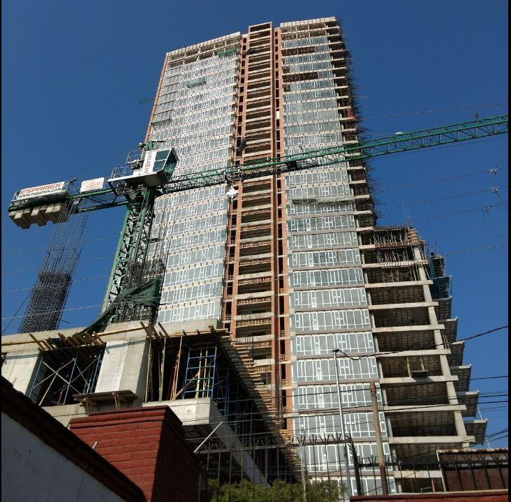 edificio construyo 23 pisos de forma irregular alcaldia coyoacan