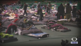 Foto: Continúa el arribo de migrantes a Ciudad Juárez