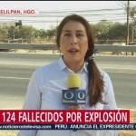 FOTO: Continúa identificación de víctimas por explosión en Tlahuelilpan, Hidalgo, 3 febrero 2019