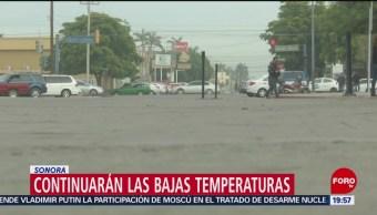 FOTO: Continúan las bajas temperaturas en Sonora por frente frío 33, 2 febrero 2019