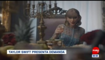 #EspectáculosenExpreso: Taylor Swift presenta demanda por fraude