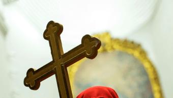 FOTO Víctimas de pederastia acusan trato favorable a Iglesia / Toledo España 11 abril 2017
