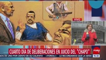 Foto: Cuarto día de deliberaciones en juicio de 'El Chapo'