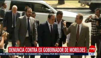 Foto: Cuauhtémoc Blanco Denuncia Graco Ramírez FGR 13 Febrero 2019