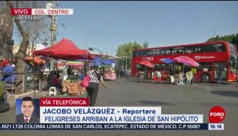 Foto: Culto a San Judas provoca caos vial en Reforma