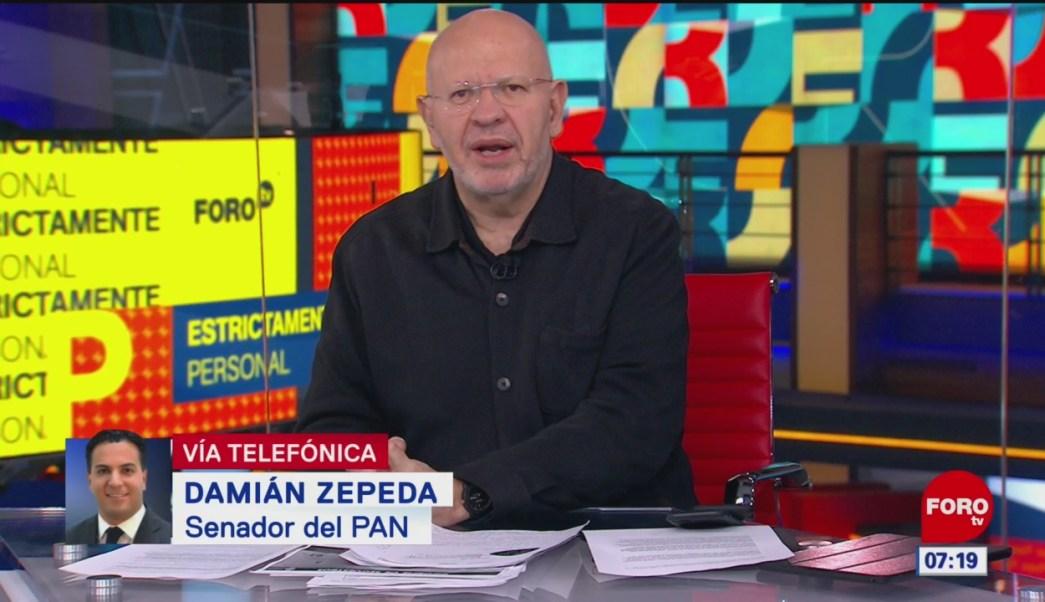 Damián Zepeda: Se avanza en discusión sobre Guardia Nacional