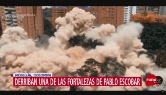 Foto: Derriban el edifico Mónaco, fortaleza de Pablo Escobar