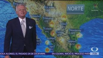 Despierta con Tiempo: Bajan temperaturas en Mesa Norte y noreste de México
