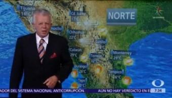 Despierta con Tiempo: Frío y lluvias en Sonora, Chihuahua y Durango