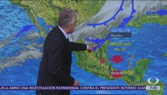 Despierta con Tiempo: Tormentas en norte, oriente y centro de México