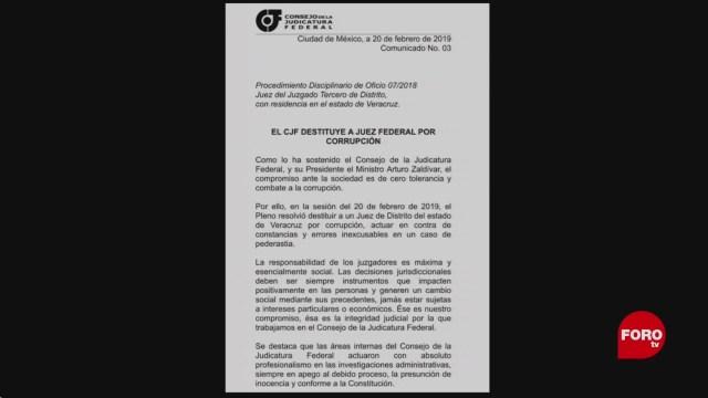 Foto: Destituyen a juez Anuar González por corrupción en caso de pederastia