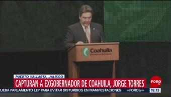 Foto: Detienen a Jorge Juan Torres López, exgobernador de Coahuila