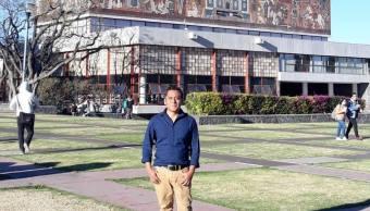 Foto hablar mixteco discriminan Metro doctor UNAM