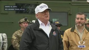 Foto: Donald Trump dará anuncio sobre muro fronterizo