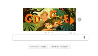 Foto  El buscador internacional Google realiza un homenaje al cazador de  cocodrilos australiano Steve Irwin 45f32c39731a