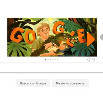Google recuerda a cazador de cocodrilos Steve Irwin con doodle animado