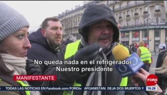 FOTO: Duodécimo sábado consecutivo de protestas en Francia, 3 febrero 2019