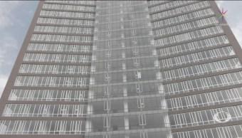 Foto: Edificio Construyó Pisos Forma Irregular Cdmx 8 Febrero 2019