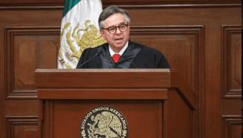 Eduardo Medina Mora, Suprema Corte rinde homenaje a fallecida esposa de Medina Mora, Twitter, 10 febrero 2019