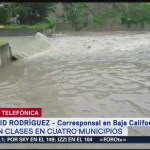 Foto: Ejército activa Plan DNIII por lluvias intensas en Baja California