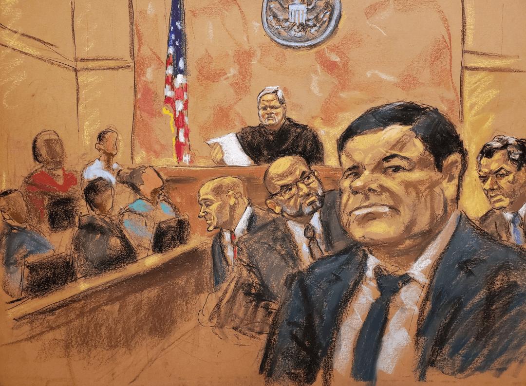 Foto: Juicio a 'El Chapo' Guzmán en Nueva York, lo declaran culpable, 12 de febrero 2018, Nueva York, Estados Unidos