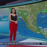Foto: El Clima 'A las Tres' con Daniela Álvarez del 14 de febrero de 2019