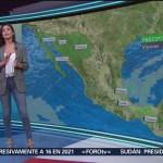 Foto: El Clima 'A las Tres' con Daniela Álvarez del 22 de febrero de 2019