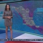 Foto: El Clima 'A las Tres' con Daniela Álvarez del 26 de febrero de 2019