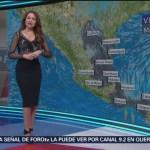 Foto: El clima, con Mayte Carranco del 12 de febrero de 2019